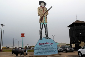 North Platte, NE: One of the many Buffalo Bill historic landmarks--apparently he got around