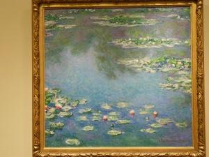 Ah...Monet's water lilies